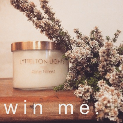 LL Pine Candle